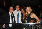 Deborah Koenigsberger & hubby Thilo & friends - Hearts of Gold annual All That Glitters Gala - 24 years of support to New York City's homeless mothers and their children - (VIP Reception - Silent Auction) was held on November 7, 2018 at Noir et Blanc and the 40/40 Club in New York City, New York.  (Photo by Sue Coflin/Max Photo)