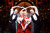 Side Show <br /> at Southwark Playhouse, London, Great Britain <br /> 25th October 2016 <br /> <br /> <br /> <br /> Dominic Hodson as Buddy Foster<br /> <br /> Louise Dearman and Laura Pitt-Pulford as conjoined twins Daisy and Violet Hilton<br /> <br /> Nuno Queimado as Reptile Man<br /> <br /> <br /> Side Show is presented by Paul Taylor-Mills<br /> Music composed by Henry Krieger<br /> Book and Lyrics by Bill Russell<br /> Additional Book material is by Bill Condon<br /> Directed by Hannah Chissick<br /> Choreography by Matthew Cole <br /> Design by takis <br /> Musical direction by Jo Cichonska<br /> Sound design by Dan Simpson<br /> <br /> Photograph by Elliott Franks <br /> Image licensed to Elliott Franks Photography Services