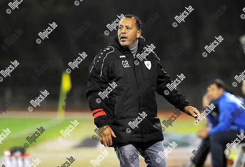 2014-11-22 / Voetbal / seizoen 2014-2015 / KV Turnhout - Hoogstraten VV / Mohammed Galli Barka<br /><br />Foto: mpics.be