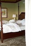 EXUMA, Bahamas. A bedroom at the Fowl Cay Resort.