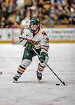 9 February 2018: University of Vermont Catamount Forward Ève-Audrey Picard, a Sophomore from Longueuil, Québec, in second period action against the University of Connecticut Huskies at Gutterson Fieldhouse in Burlington, Vermont. The Lady Cats defeated the Huskies 1-0 the first game of their weekend Hockey East series. Mandatory Credit: Ed Wolfstein Photo *** RAW (NEF) Image File Available ***