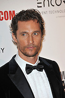 Matthew McConaughey at the 28th Annual American Cinematheque Award Gala honoring Matthew McConaughey at the Beverly Hilton Hotel.<br /> October 21, 2014  Beverly Hills, CA<br /> Picture: Paul Smith / Featureflash