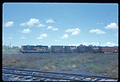 D&amp;RGW GP9 #5904 with a string of box cars.  &quot;Antonito Turn LV&quot;.<br /> D&amp;RGW    Taken by Berkstresser, George