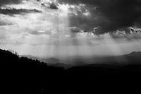 Light Rays, Shenandoah NP, Virginia  35mm Film