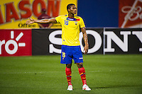 Antonio Valencia (16) of Ecuador. Ecuador defeated Chile 3-0 during an international friendly at Citi Field in Flushing, NY, on August 15, 2012.