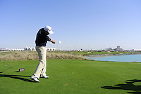 Emirates Airlines Invitational Pro-Am Peter Lawrie Swing