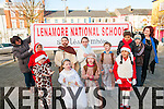 Listowel Parade: Pictured at the Annual Christmas parade in Lisowel on Sunday last were pupils from Lenamor national school, Ballylongford.