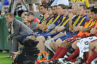Real Salt Lake head coach Jason Kreis. D.C. United defeated Real Salt Lake 4-1 at RFK Stadium, Saturday September 24 , 2011.