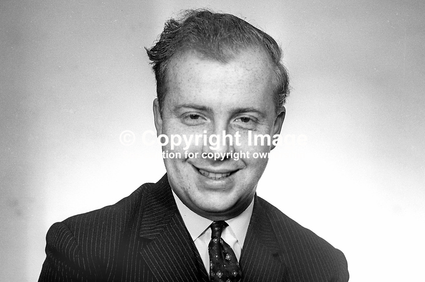 Ivan Cooper, MP, Mid Derry, Independent, N Ireland Parliament, Stormont, Belfast, March 1969, politician, 196903000103a <br />