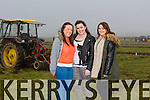 Grainne McGlynn, Sarah O Halloran and Sinead O Mahony at the County Championship Causeway Ploughing Match in Paul Thornton's, Land Castleshannon, Ballyheigue on Sunday