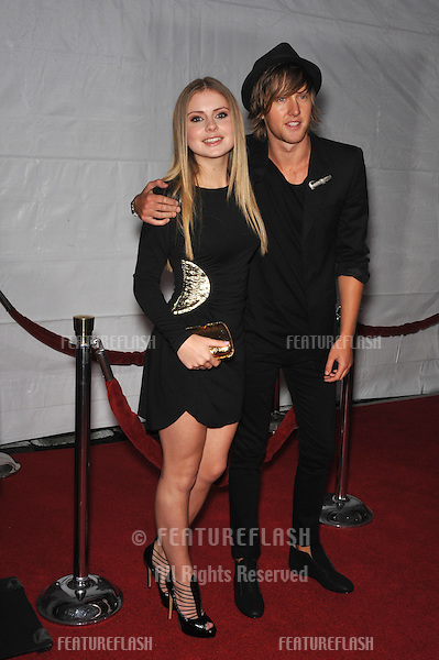 "Rose McIver & date at the Los Angeles premier of her new movie ""The Lovely Bones"" at Grauman's Chinese Theatre, Hollywood..December 7, 2009  Los Angeles, CA.Picture: Paul Smith / Featureflash"