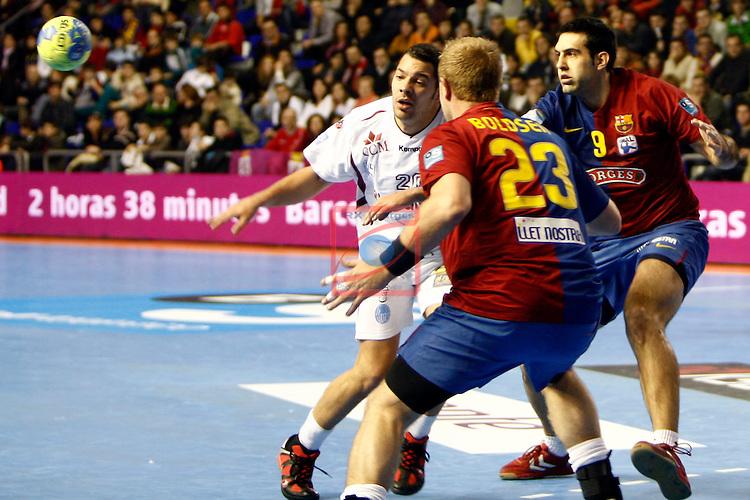 FC Barcelona-Borges vs BM Ciudad Real: 26-23 (Semifinal Copal ASOBAL 2008).