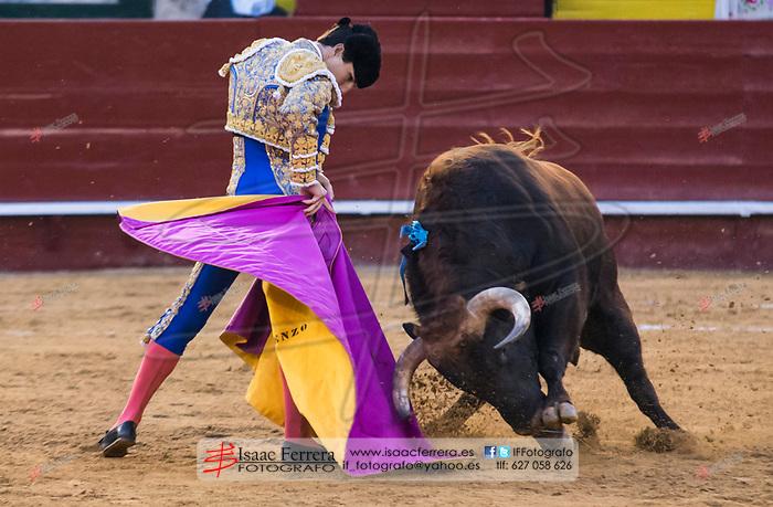 Feria de Fallas 2017.<br /> Corrida de toros.<br /> Juan Bautista - Fortes - Alvaro Lorenzo.<br /> Toros de Alcurrucen.<br /> Valencia, Valencia (Spain).<br /> 11 de marzo de 2017.