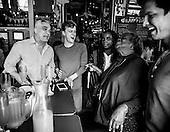 At Nellie's Sports bar with Douglas Warren Schantz in Washington, DC