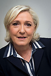 Marine Le Pen - candidate FN / Front National aux elections legislatives de 2017