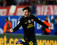 LIGA BBVA. Atletico de Madrid vs FC Barcelona  26/2/2012