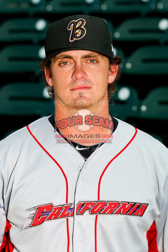 California League All-Star Chad Rogers #22 of the Bakersfield Blaze at BB&T Ballpark on June 19, 2012 in Winston-Salem, North Carolina.  (Brian Westerholt/Four Seam Images)