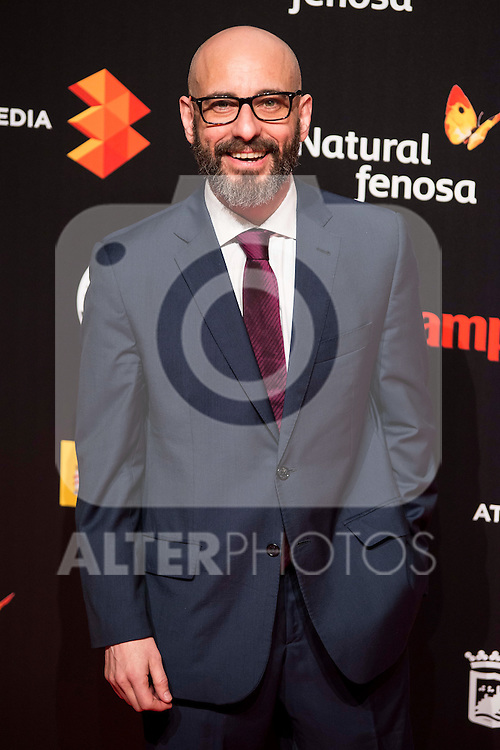 Jaime Ordoñez attends to the cocktail presentation of the XIX Malaga Film Festival at Circulo de Bellas Artes in Madrid. April 06, 2016. (ALTERPHOTOS/Borja B.Hojas)