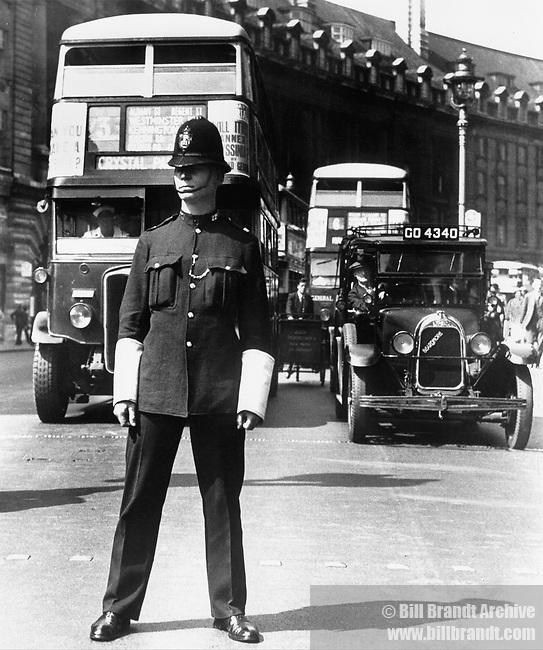 Bobby on point duty 1939