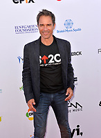 SANTA MONICA, CA. September 07, 2018: Eric McCormack at the 2018 Stand Up To Cancer fundraiser at Barker Hangar, Santa Monica Airport.