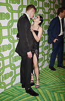 BEVERLY HILLS, CA - JANUARY 06: Levi Meaden (L) and Ariel Winter attend HBO's Official Golden Globe Awards After Party at Circa 55 Restaurant at the Beverly Hilton Hotel on January 6, 2019 in Beverly Hills, California.<br /> CAP/ROT/TM<br /> ©TM/ROT/Capital Pictures