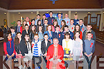 Fr Tadgh Fitzgerald who confirmed pupils from Abbeydorey NS who made their Confirmetion on Thursday in St Bernards Church,Abbeydorney,