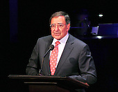 "United States Secretary of Defense Leon Panetta makes remarks at ""The Washington National Cathedral's A Call to Compassion"" being hosted at the John F. Kennedy Center for the Performing Arts in Washington, D.C. on Friday, September 9, 2011 to commemorate the tenth anniversary of 9/11 .Credit: Ron Sachs / Pool via CNP"