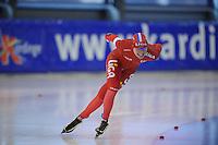 SCHAATSEN: GRONINGEN: Sportcentrum Kardinge, 02-02-2013, Seizoen 2012-2013, Gruno Bokaal, Yvonne Nauta, ©foto Martin de Jong