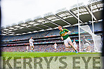 Colm Cooper, scores Kerry's Second goal in the All Ireland Quarter Final at Croke Park on Sunday.