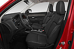 Front seat view of a 2019 Mitsubishi Outlander SEL 5 Door SUV front seat car photos