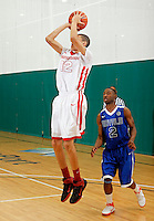 April 10, 2011 - Hampton, VA. USA;  Justin Jackson participates in the 2011 Elite Youth Basketball League at the Boo Williams Sports Complex. Photo/Andrew Shurtleff