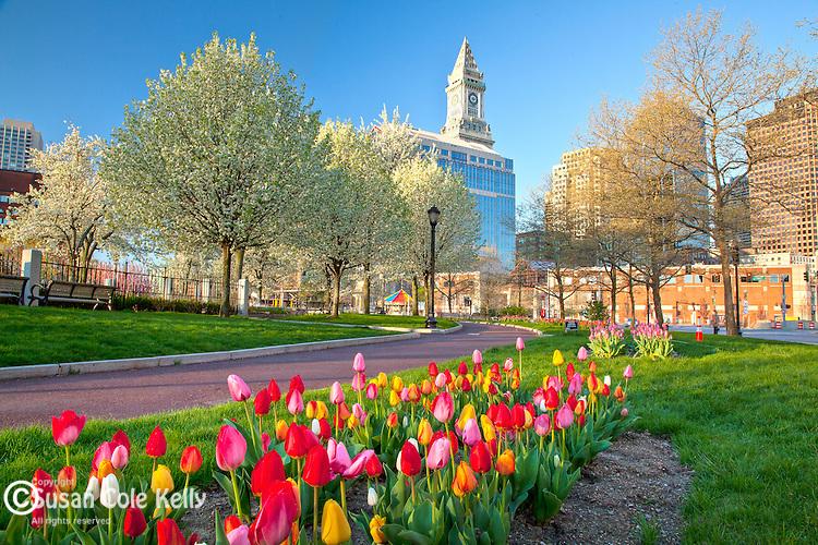 Christopher Columbus Waterfront Park, Boston, MA, USA
