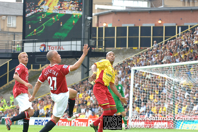 Watford 1 Manchester United 2, 26/08/2006. Vicarage Road, Premier League. Photo by Simon Gill