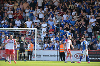 Tranmere fans during Stevenage vs Tranmere Rovers, Sky Bet EFL League 2 Football at the Lamex Stadium on 4th August 2018