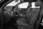 Front seat view of 2016 Audi Q7 S Line 5 Door Suv Front Seat car photos