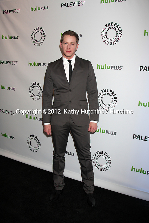 "LOS ANGELES - MAR 4:  Josh Dallas arrives at the ""Once Upon A Time"" Event at PaleyFest 2012 at the Saban Theater on March 4, 2012 in Los Angeles, CA"