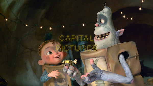 SCENE<br /> in The Boxtrolls (2014) <br /> *Filmstill - Editorial Use Only*<br /> CAP/NFS<br /> Image supplied by Capital Pictures