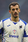 Manolo Gabbiadini of Sampdoria during the Serie A match at Giuseppe Meazza, Milan. Picture date: 6th January 2020. Picture credit should read: Jonathan Moscrop/Sportimage