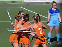 Northland v Midlands women. 2019 National Hockey Under-18 Tournament at National Hockey Stadium in Wellington, New Zealand on Thursday, 11 July 2019. Photo: Dave Lintott / lintottphoto.co.nz