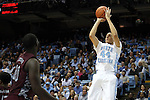 14 November 2014: North Carolina's Justin Jackson (44). The University of North Carolina Tar Heels played the North Carolina Central University Eagles in an NCAA Division I Men's basketball game at the Dean E. Smith Center in Chapel Hill, North Carolina. UNC won the game 76-60.