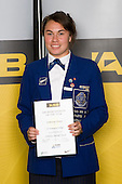 All Rounder category winner Kahurangi Watene from St Kentigern College. ASB College Sport Young Sportperson of the Year Awards 2008 held at Eden Park, Auckland, on Thursday November 13th, 2008.