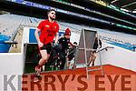 Donough McGillicuddy Glenbeigh Glencar in action against  Rock Saint Patricks in the Junior Football All Ireland Final in Croke Park on Sunday.