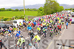The start of the Stephanie O'Sullivan cycle in Milltown on sunday