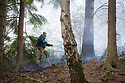 02/07/18<br /> <br /> Firefighters tackle a new woodland fire which has broken out less than a mile from Alton Towers at Dimmings Dale in Staffordshire.<br />  <br /> All Rights Reserved F Stop Press Ltd. +44 (0)1335 344240 +44 (0)7765 242650  www.fstoppress.com