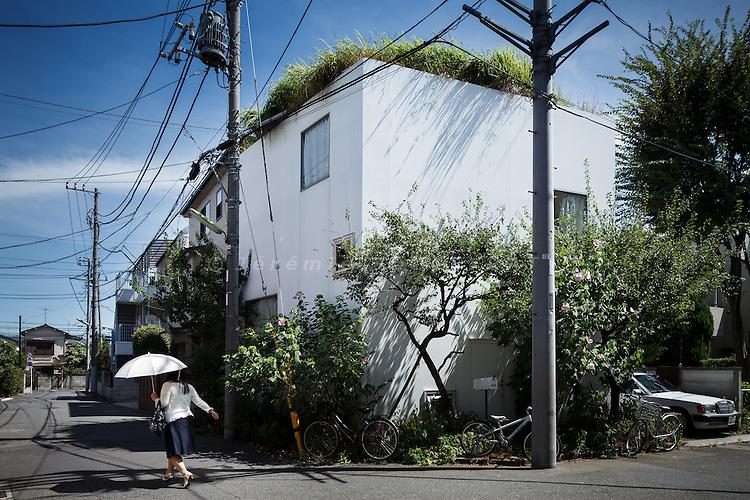 Tokyo, September 2 2010 - House in a plum grove by Kazuyo Sejima.