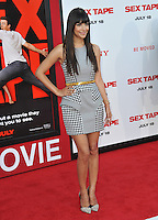 Hannah Simone at the world premiere of &quot;Sex Tape&quot; at the Regency Village Theatre, Westwood.<br /> July 10, 2014  Los Angeles, CA<br /> Picture: Paul Smith / Featureflash