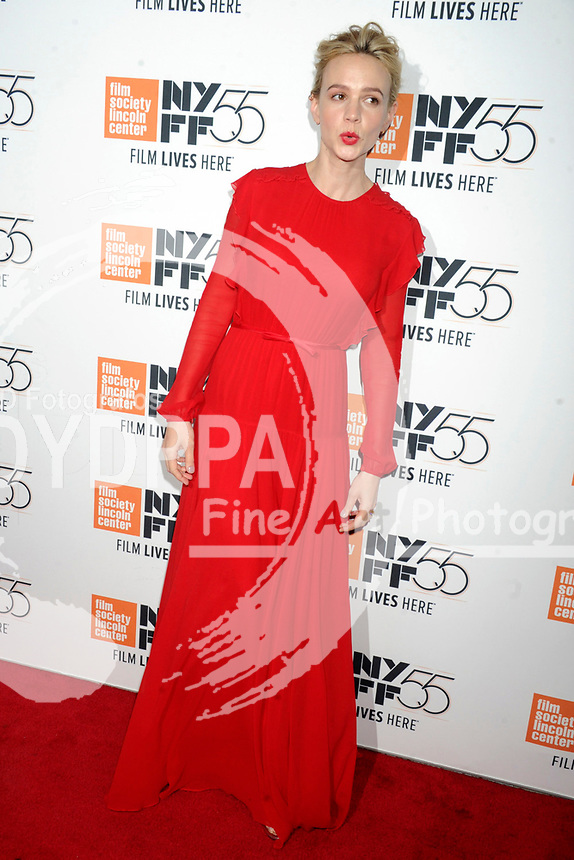 Carey Mulligan bei der Premiere von 'Mudbound' auf dem 55. New York Film Festival in der Alice Tully Hall. New York, 12.10.2017