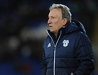 Cardiff City manager Neil Warnock <br /> <br /> Photographer Kevin Barnes/CameraSport<br /> <br /> The EFL Sky Bet Championship - Cardiff City v Bolton Wanderers - Tuesday 13th February 2018 - Cardiff City Stadium - Cardiff<br /> <br /> World Copyright &copy; 2018 CameraSport. All rights reserved. 43 Linden Ave. Countesthorpe. Leicester. England. LE8 5PG - Tel: +44 (0) 116 277 4147 - admin@camerasport.com - www.camerasport.com