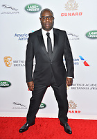 BEVERLY HILLS, CA. October 26, 2018: Steve McQueen at the 2018 British Academy Britannia Awards at the Beverly Hilton Hotel.<br /> Picture: Paul Smith/Featureflash