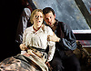 La Boheme <br /> by Puccini <br /> English Touring Opera at the Hackney Empire, London, Great Britain <br /> rehearsal <br /> 11th March 2015 <br /> <br /> David Butt Philip as Rodolfo <br /> <br /> Ilona Domnich as Mimi <br /> <br /> <br /> <br /> <br /> <br /> <br /> <br /> Photograph by Elliott Franks <br /> Image licensed to Elliott Franks Photography Services